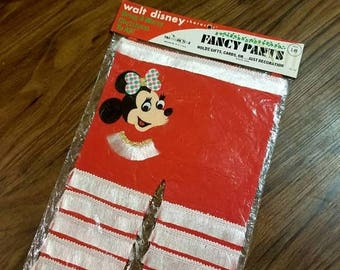 Vintage Disney Christmas Stocking, Mini Mouse, For Girls, Christmas Decor, Christmas Stocking Stuffers, Christmas Stocking Personalized