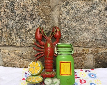 Plastic Lobster kitchen decoration