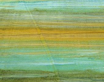 Los Cabos-Jungle Green and Yellow Batik Cotton Fabric from Moda