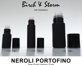 NEROLI PORTOFINO by Tom Ford Unisex type - 100% Pure Perfume Fragrance Body Oil Roll On - Uncut - No Alcohol