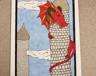 Original Dragon Pop Art