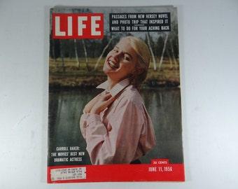 1956 Life Magazine, June 11  - Carol Baker: The Movies' Best New Dramatic Actress