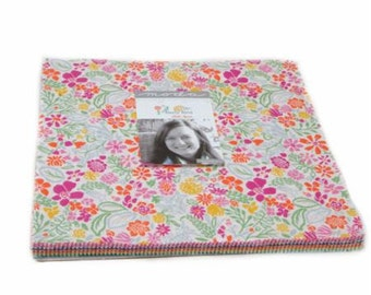 """Early Bird by Kate Spain for Moda Fabrics Layer Cake (10"""" x 10"""" squares)"""
