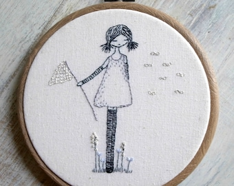 catching wishes hand embroidery pattern pdf