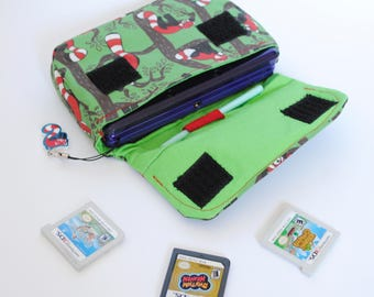 Red Panda 3DS / 3DS xL / New 3DS Carrying Case MADE TO ORDER