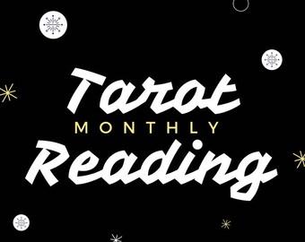 Monthly Tarot Card Rading