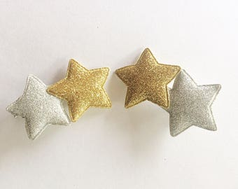 Shooting Stars Hair Clips