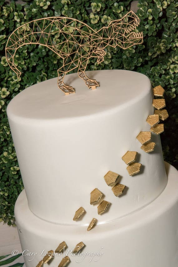 Baby Shower Cake Topper, Dinosaur Cake Topper, T-Rex Cake Topper, Shower Cake Topper, Welcome Baby Cake Topper