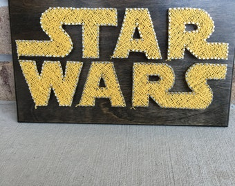 Made to order Star Wars String Art Board