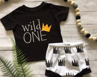 NEW for Summer!! wild ONE/First Birthday Set/Baby Shorties/Toddler Shorties