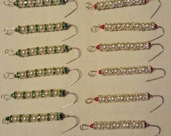 Decorative ornament hangers lot of 12