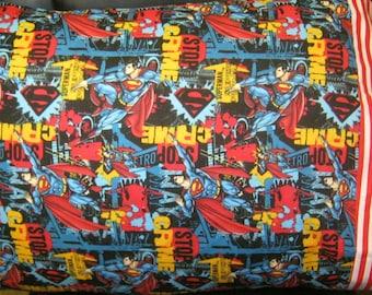 Standard Pillow Case-DC Superman Pillowcase