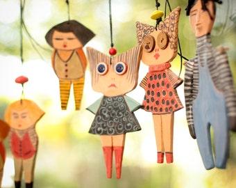 Ceramic Marionette----Anna dolls----Gift-Sweet- Doll--moblie.-Modern--home decor-Chrsitmas gift-Valentine day