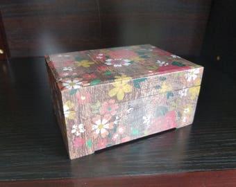 Parent Prayer Cards and Boxes - rose print