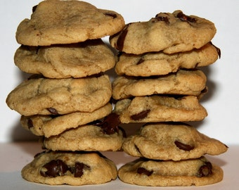 Bite Size Chocolate Chip Cookies