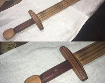 "24"" All Wood Gladiator Sword"