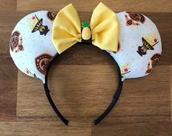 Dole Whip Ears - Pineapple Ice Cream Soft Serve Ears