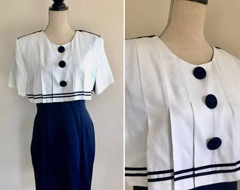 Vintage Sailor Dress,