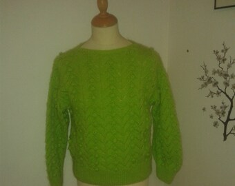 fancy with ball point sweater