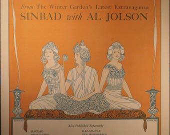 "1918 Sheet Music, ""I Hail From Cairo"""