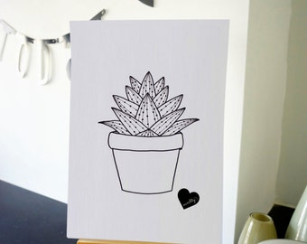 Cactus drawing - number 3 out of 4