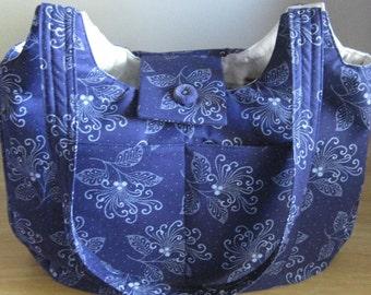 Hobo Bag, Medium Size, Epattern, PDF, Downloadable Digital Pattern