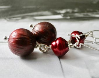 Women's Jewelry / Gift for Her / Sterling Silver Dangle Earrings / Holiday Gift /