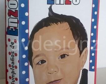 Personalized First Birthday Book, Birthday Gift, Children Books, Illustration, Foam Book, Customized Book, Birthday Theme.