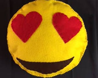 Emoji Felt Pillow