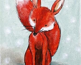 Red Red FOX- PRINT 8x10