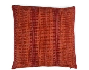 """Maharam Wool Striae - Torch - pillow (both sides) 17"""" x 17"""" feather insert included"""