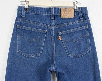 Vintage Levi's Jeans - Orange Tab High Waisted Student Straight Leg