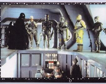 Rare 1996 Star Wars European Panini Sticker VADER and Bad Guys 83
