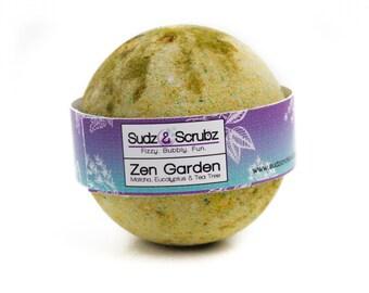Eucalyptus Bath Bomb, Matcha Bath Bomb, Zen Garden