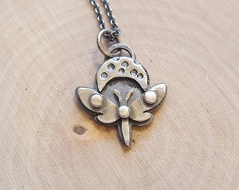 Moon Moth Necklace