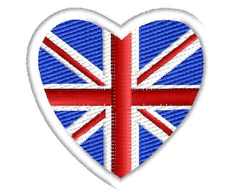 I love GB  Embroidered Patch