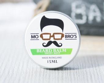 Mo Bro's Sweet Mint Beard Conditioning Balm 15ml