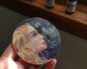 Daenerys Targaryen || Acrylic Painting