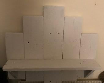 Rustic plack shelf