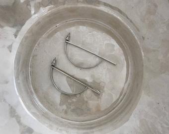 Modern Arc Earrings