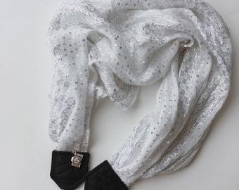 NOUVEAU Studio amour courroie de l'appareil: sparkle silver foulard cuir dslr photographe pro