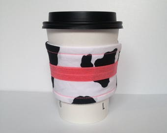 Pink Cow Drink Sleeve