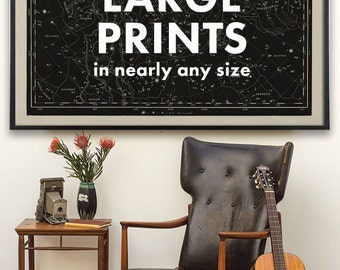 Large Print, Large Art, Custom size prints, framed art, large wall art