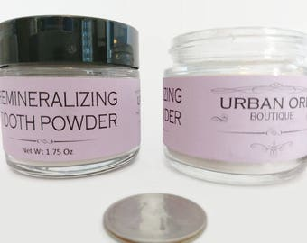 Remineralizing Natural Tooth Powder (1.8 oz)