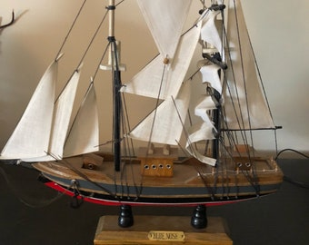 Canadian Blue Nose wooden Ship Model