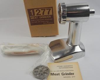Vintage Nutone Food Center Meat Grinder 1277