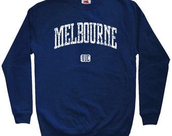 Melbourne Australia Sweatshirt - Men S M L XL 2x 3x - Crewneck, Gift, Melbourne Sweatshirt, Australia Sweater, Melbournian, Victoria, Travel