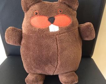 Cuddly Plush Beaver