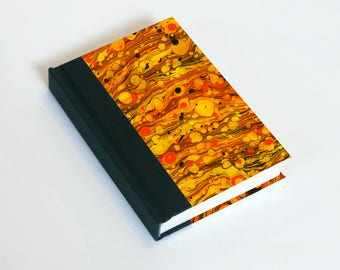 """Sketchbook 4x6"""" with motifs of marbled papers - 21"""