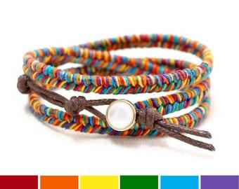 Gay Pride Bracelet, LGBT Bracelet, Rainbow Bracelet, Gay Pride Jewelry, Gay Bracelet Gift, LGBT Gift, Gay Jewelry Gift, Gay Pride Gift